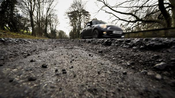 'Swiss cheese' roads crumbling to dust after years of neglect