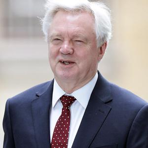 Brexit Secretary David Davis has said Northern Ireland could rejoin the EU as part of a united Ireland