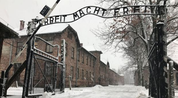 Two hundred children from Northern Ireland will to fly to Poland today to see for themselves the horrors of the Auschwitz concentration camp, where more than a million people were killed during the Holocaust