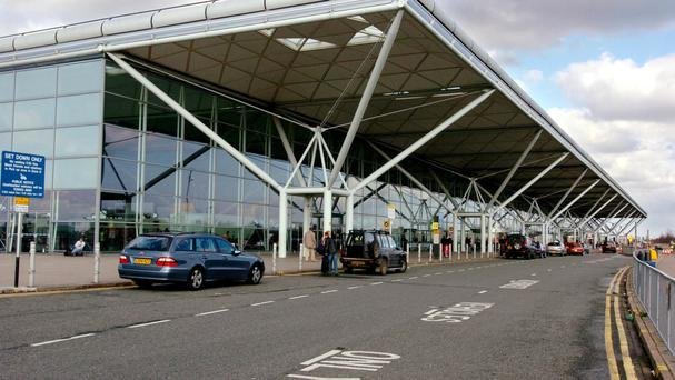 London Stansted Airport temporarily closed as protesters surround 'deportation plane' on runway
