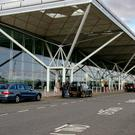 Stansted Airport said police had contained the incident but flights were suspended while they carried out further inspections
