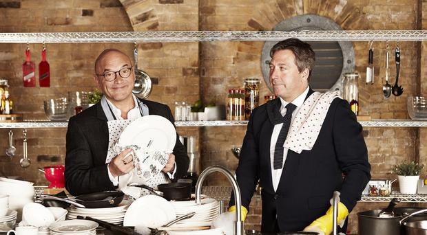 MasterChef judges Gregg Wallace and John Torode