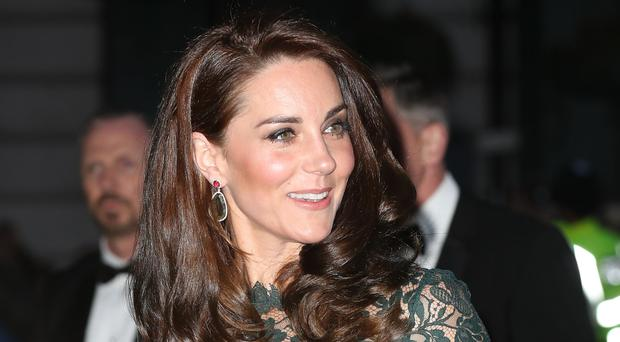 The Duchess of Cambridge arrives at the National Portrait Gallery in London for the 2017 Portrait Gala.
