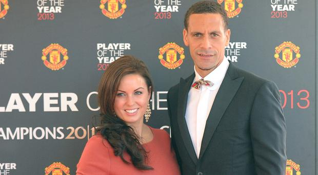 Rio Ferdinand said the three months his wife Rebecca spent in hospital were