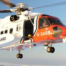UK Coastguard said it was coordinating a search operation in the Caernarfon Bay area of North Wales