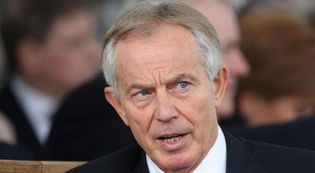Official records show they met on November 26 to discuss Tony Blair's former role as a Middle East envoy