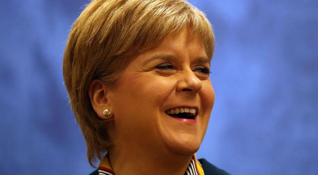 First Minister Nicola Sturgeon wants to hold a second referendum on independence