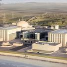 An artist's impression of plans for the new Hinkley Point C nuclear power station (EDF/PA)