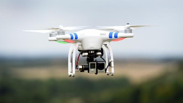 The drone operator could not be traced (File photo)