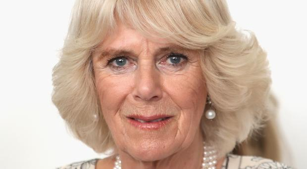 The Duchess of Cornwall visited La Gloriette, a picturesque villa in Naples once owned by crime boss Michele Zaza
