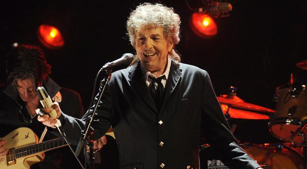 Bob Dylan finally has his prize (Chris Pizzello/AP)
