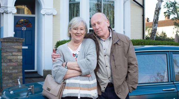 Maggie Steed and Christopher Timothy are to join the cast of EastEnders this spring.