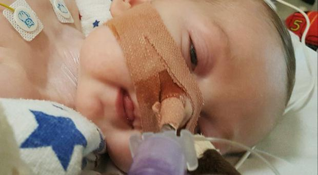 Charlie Gard is receiving life support treatment for a rare genetic condition