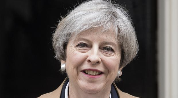 Theresa May said she intends to engage with the kingdom rather than