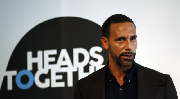 Rio Ferdinand appeared in videos for the Heads Together initiative about the conversations that helped them cope with his grief