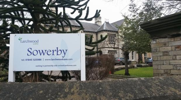 The care home in Sowerby near Thirsk where three residents who died of natural causes lived