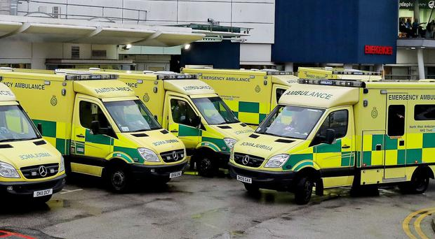 The number of times casualty departments have closed their doors to ambulances has risen