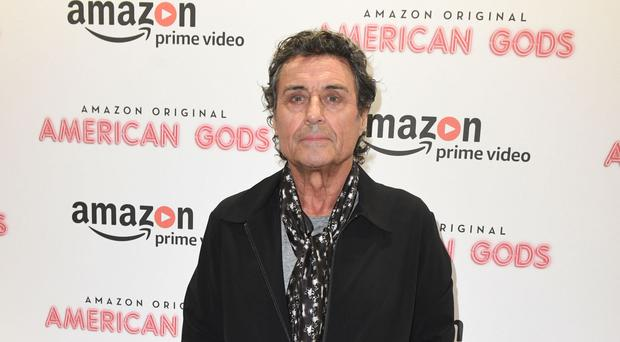 Ian McShane at the premiere screening of American Gods ahead of its official launch on May 1