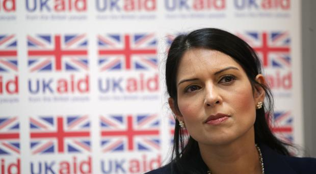 International Development Secretary Priti Patel said the new humanitarian corridor will deliver vital aid to the area.