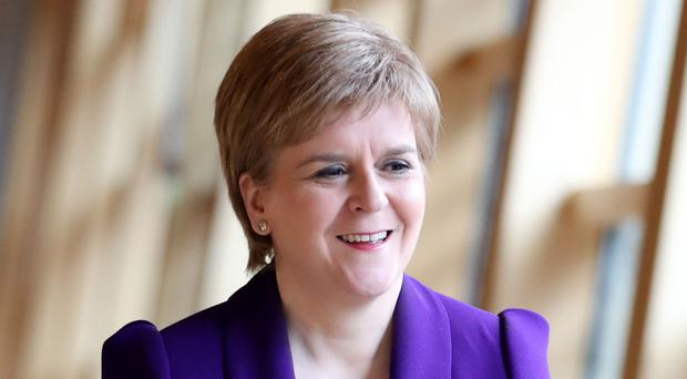 Nicola Sturgeon praised Hillary Clinton when they pair appeared together at the same event in New York