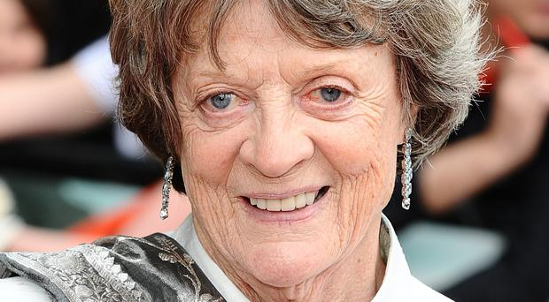 Dame Maggie Smith says she has not watched her performances in Downton Abbey