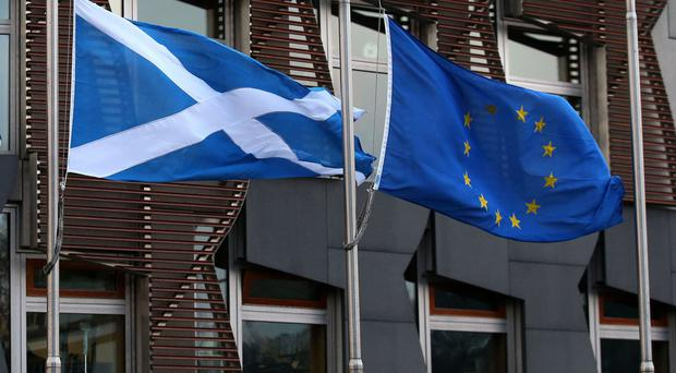 A group of MEPs said they would help an independent Scotland become a member of the EU