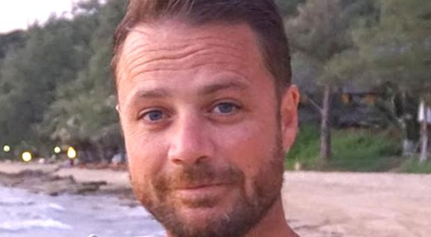 Chris Bevington, 41, was killed in the Stockholm terror attack (FCO/PA)