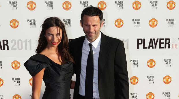 Ryan Giggs with wife Stacey