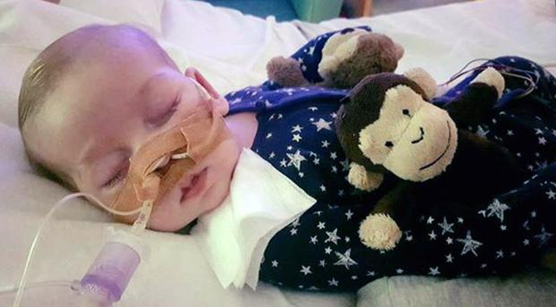 Charlie Gard suffers from a rare genetic condition and has brain damage (Family handout/PA)
