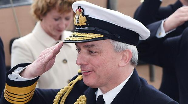 Admiral Sir Philip Jones said the Royal Marines would continue to be vital to the defence of the realm, as he announced the cuts