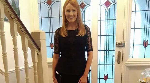 Mandy Gallear was stabbed to death by her husband the day after he discovered she was having an affair with a joiner