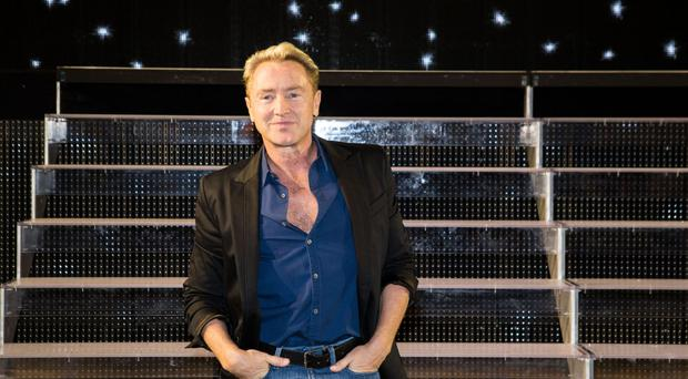 Irish dance star Michael Flatley promotes his new show Lord Of The Dance: Dangerous Games