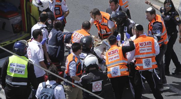 Palestinian shot, hurt after alleged Jerusalem attack