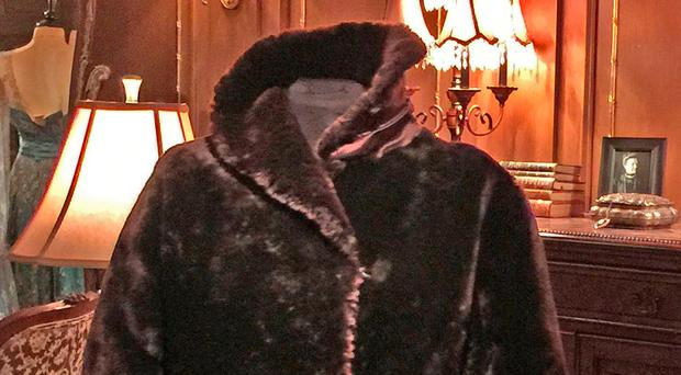 A fur coat worn by first class stewardess Mabel Bennett aboard the doomed Titanic. It is expected to fetch up to £80,000 at auction