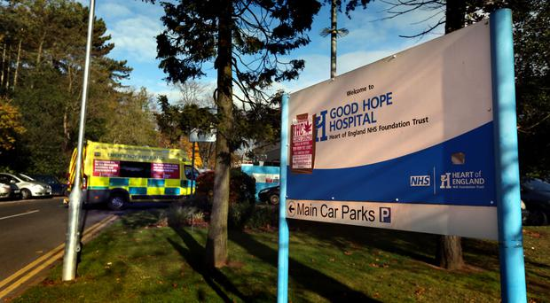 Two of the care home residents are in a serious condition in Good Hope Hospital