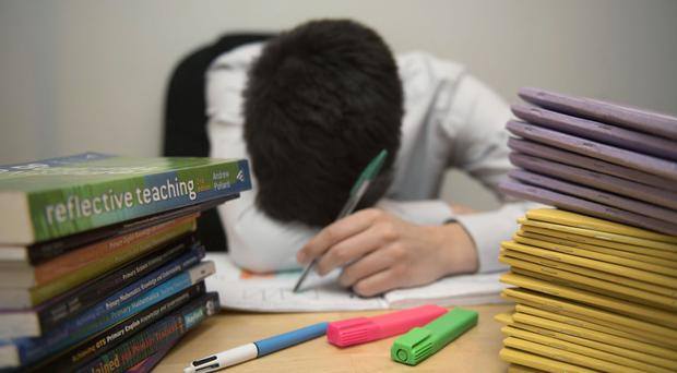 Some 83% of school staff believe their job has had a negative impact on their health over the past year, a poll shows