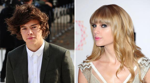 Harry Styles briefly dated Taylor Swift