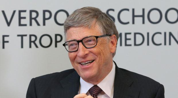 Bill Gates said aid spending is not entirely altruistic