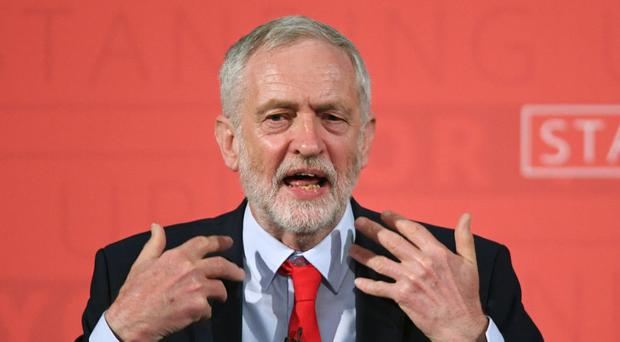 Jeremy Corbyn stressed his support for the redistribution of wealth