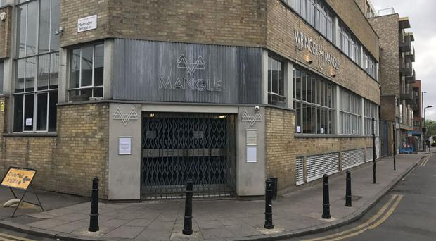 Revellers have suffered burns from a noxious substance at Mangle nightclub