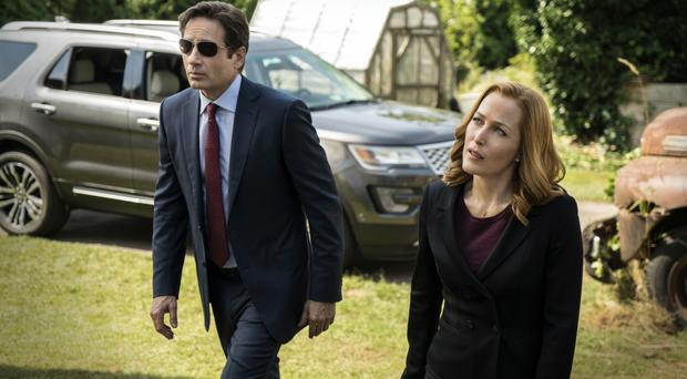 David Duchovny and Gillian Anderson will reprise their roles of FBI agents Mulder and Scully (FOX/AP)