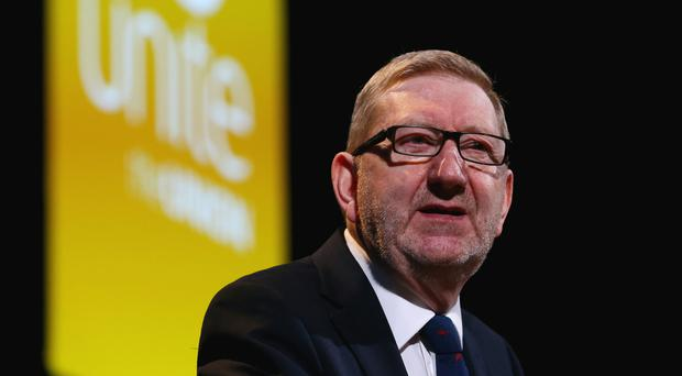 A source said Mr McCluskey had won by a winning margin of several thousands