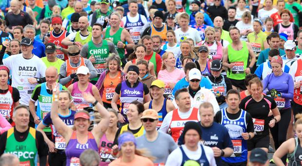 The event is expected to overtake last year's record total of runners