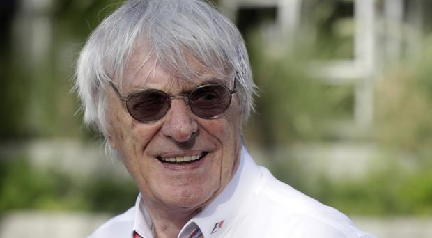 Bernie Ecclestone talked about being chairman emeritus of F1 on Top Gear (AP/Luca Bruno)