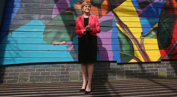 SNP leader Nicola Sturgeon says Conservative hard-liners are looking to get more power in the general election