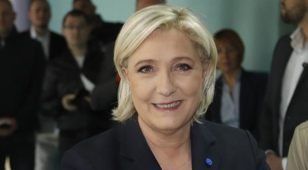 Controversial far-right leader Marine le Pen