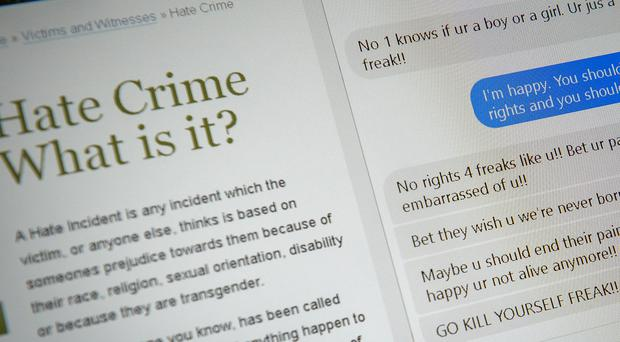 The Online Hate Crime Hub aims to improve the police response to internet abuse