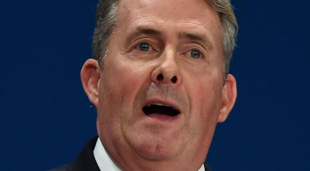 Trade Secretary Liam Fox's push for cheap US food imports indicates a lowering of standards, a Brexit conference was told