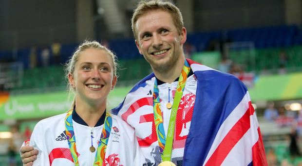 Laura and Jason Kenny will be honoured for the string of gold medals they have won for Team GB