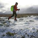 A dusting of snow on the North Yorkshire moors